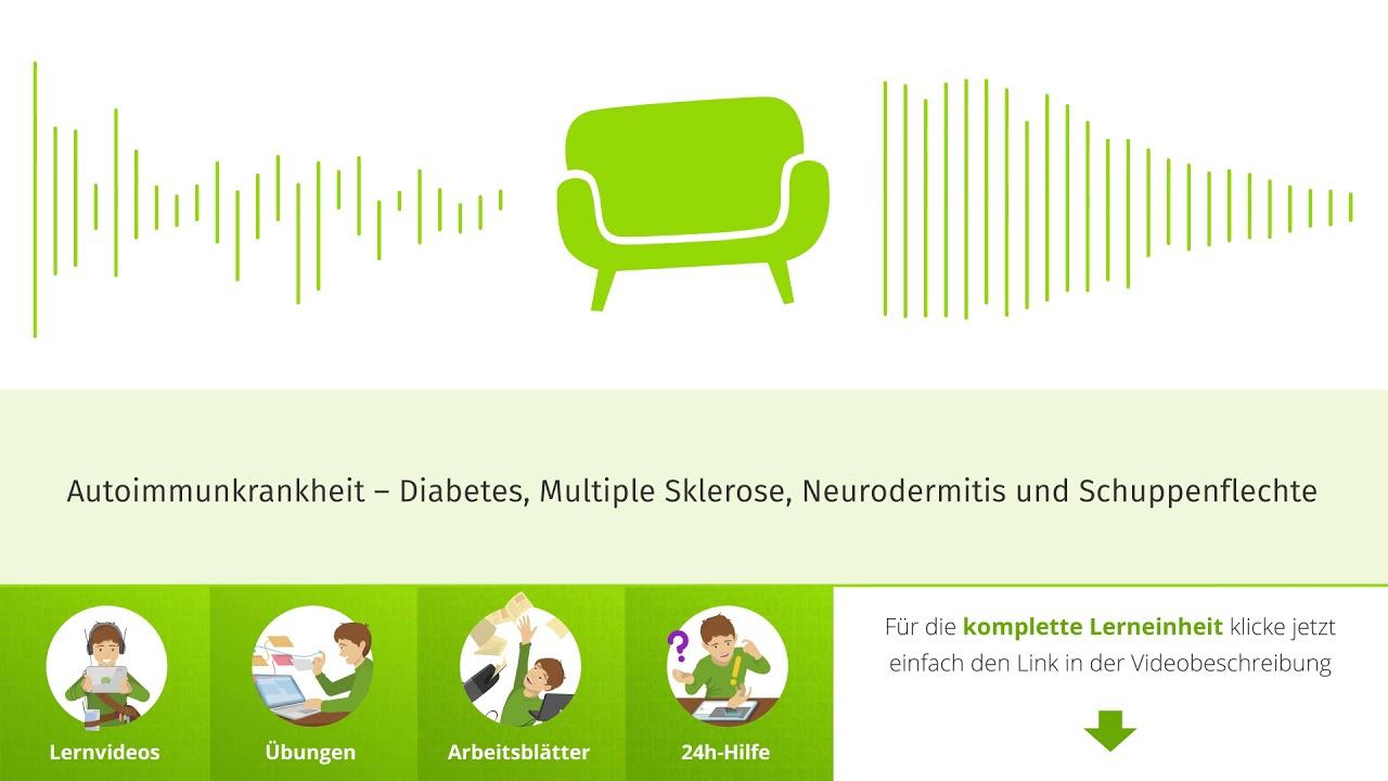 Autoimmunkrankheit – Diabetes, Multiple Sklerose, Neurodermitis und Schuppenflechte