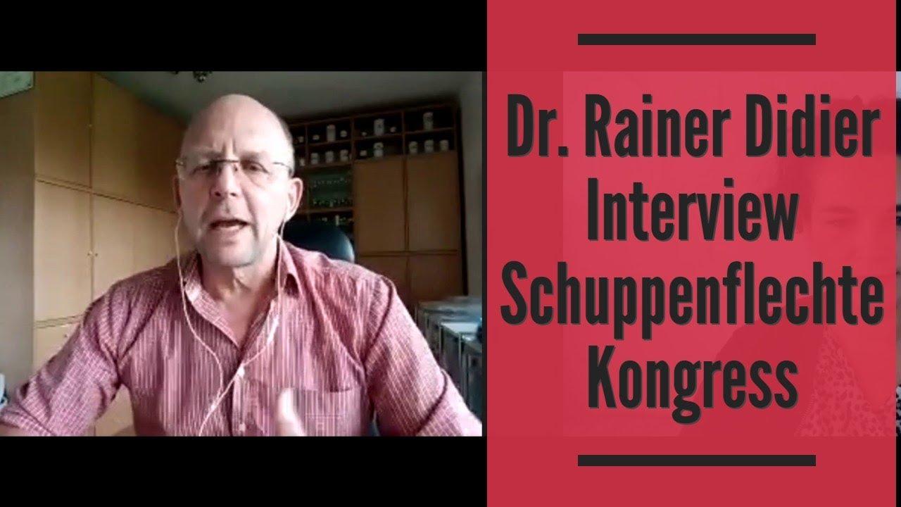 Dr. Rainer Didier Interview Schuppenflechte Kongress