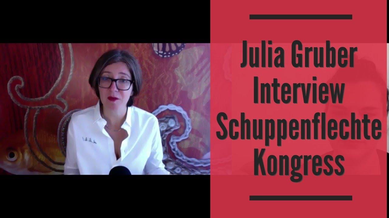 Julia Gruber Interview Schuppenflechte Kongress