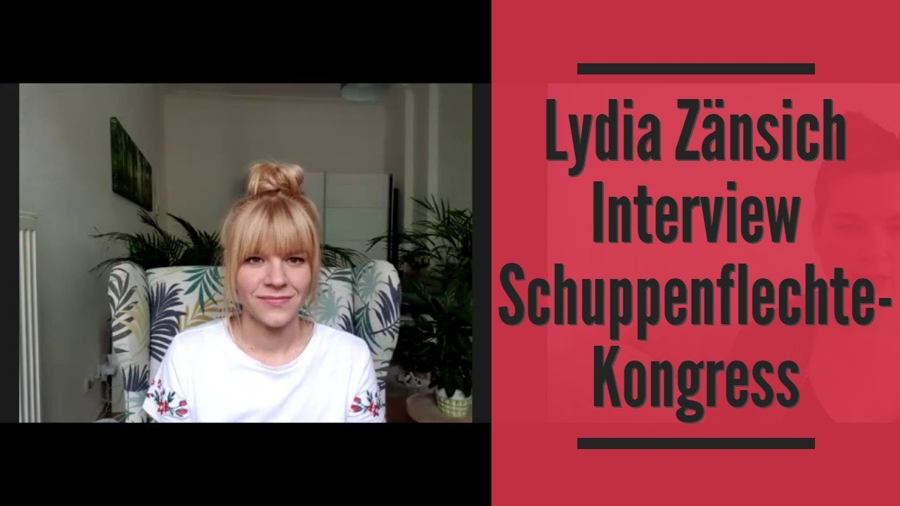Lydia Zänsich Interview Schuppenflechte Kongress