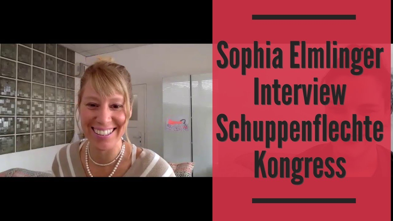 Sophia Elmlinger Interview Schuppenflechte Kongress