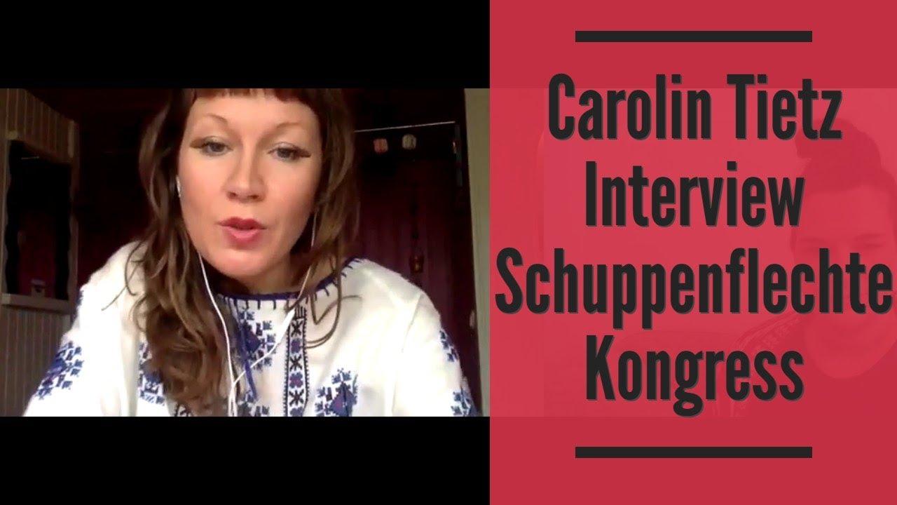 Carolin Tietz Interview Schuppenflechte Kongress