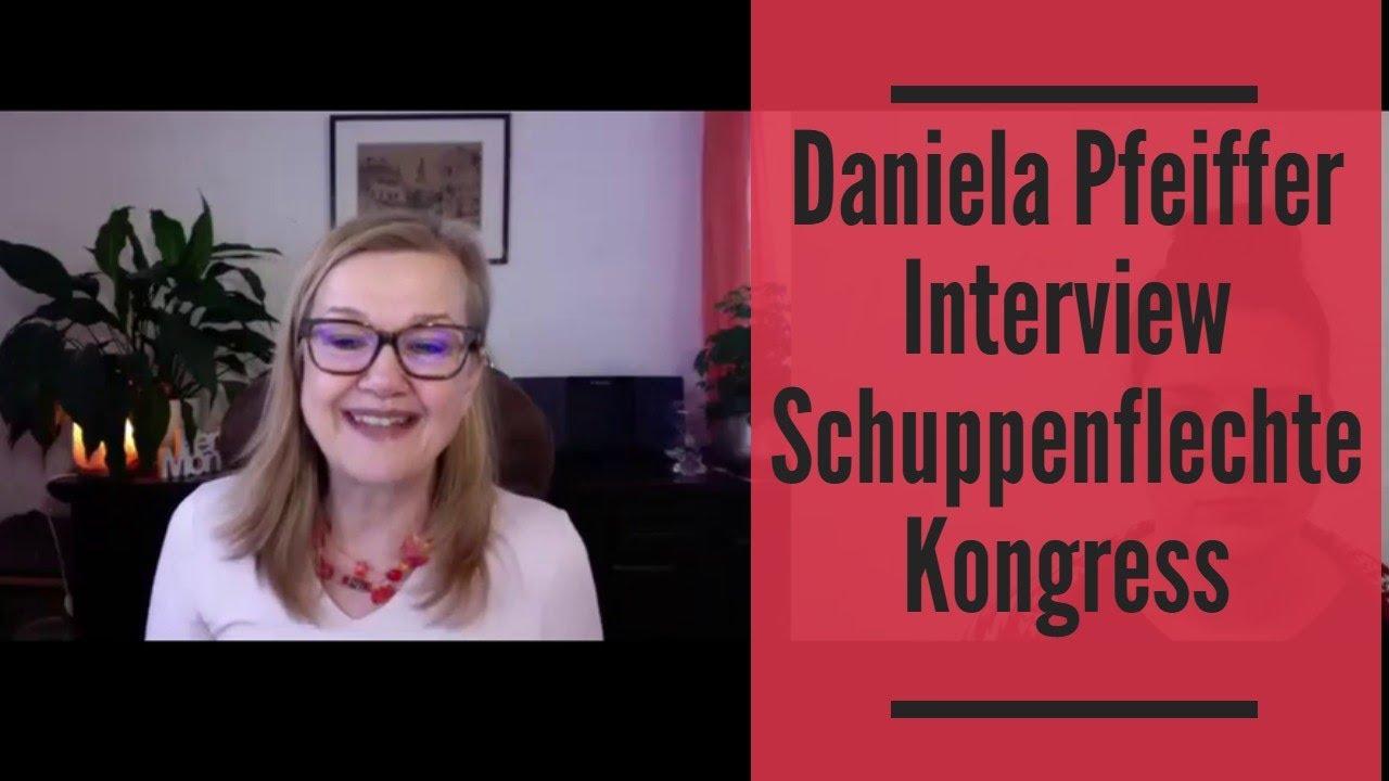 Daniela Pfeiffer Interview über trockene Haut und Ernährung Schuppenflechte Kongress