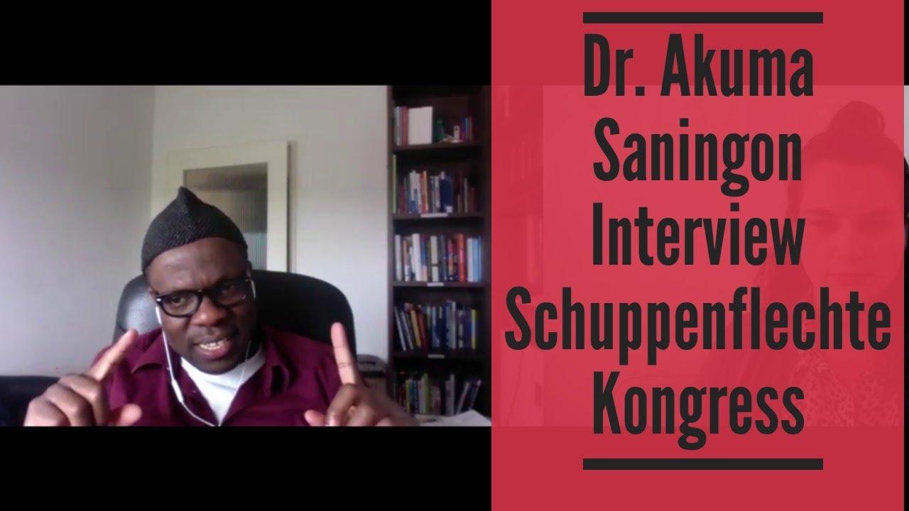 Dr Akuma Saningon Interview Schuppenflechte Kongress