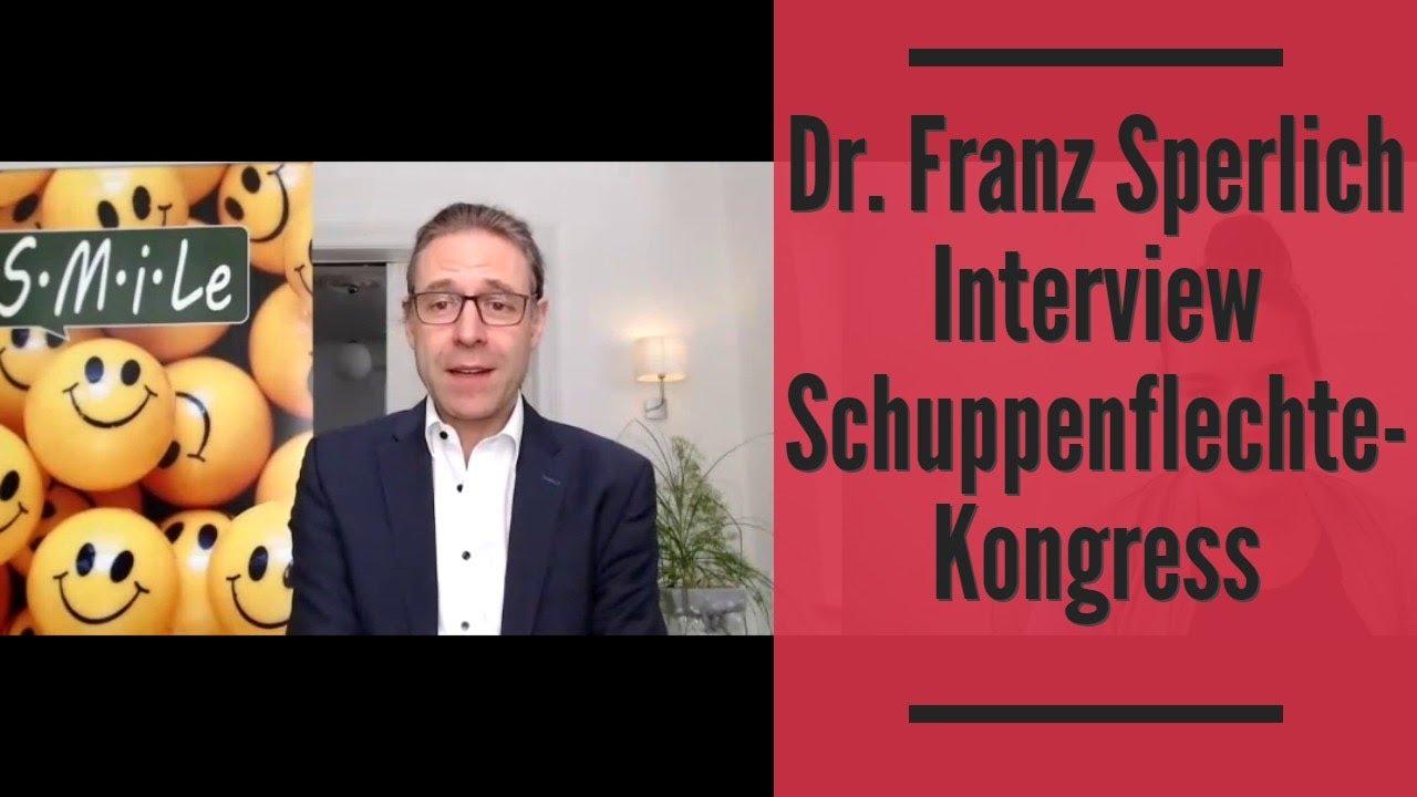 Dr. Franz Sperlich  Interview Schuppenflechte Kongress