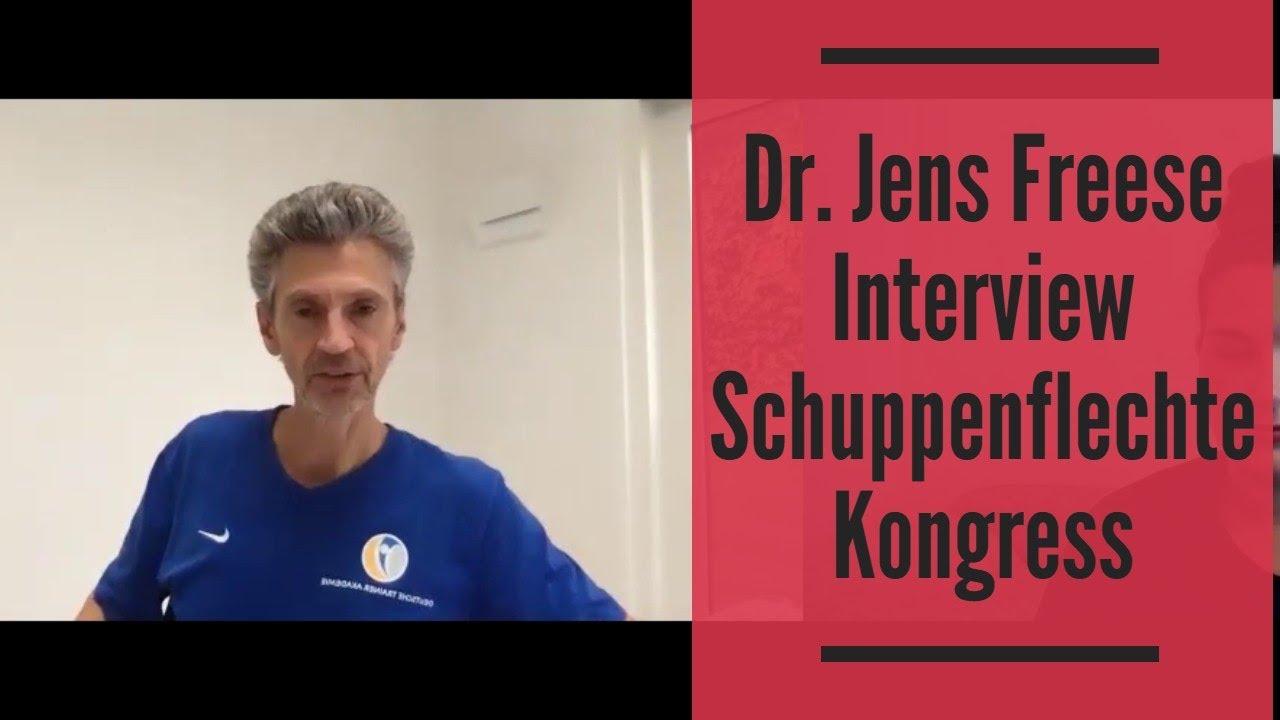 Dr Jens Freese Interview Schuppenflechte Kongress