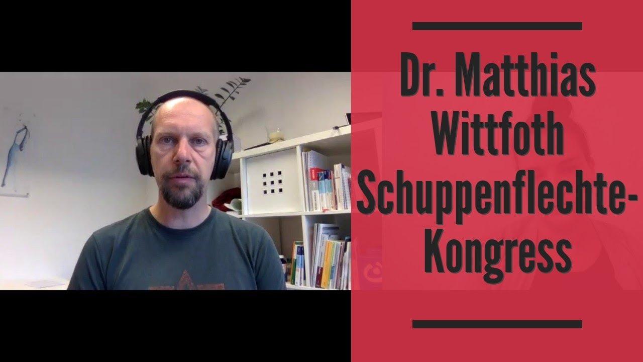 Dr. Matthias Wittfoth Interview Schuppenflechte Kongress