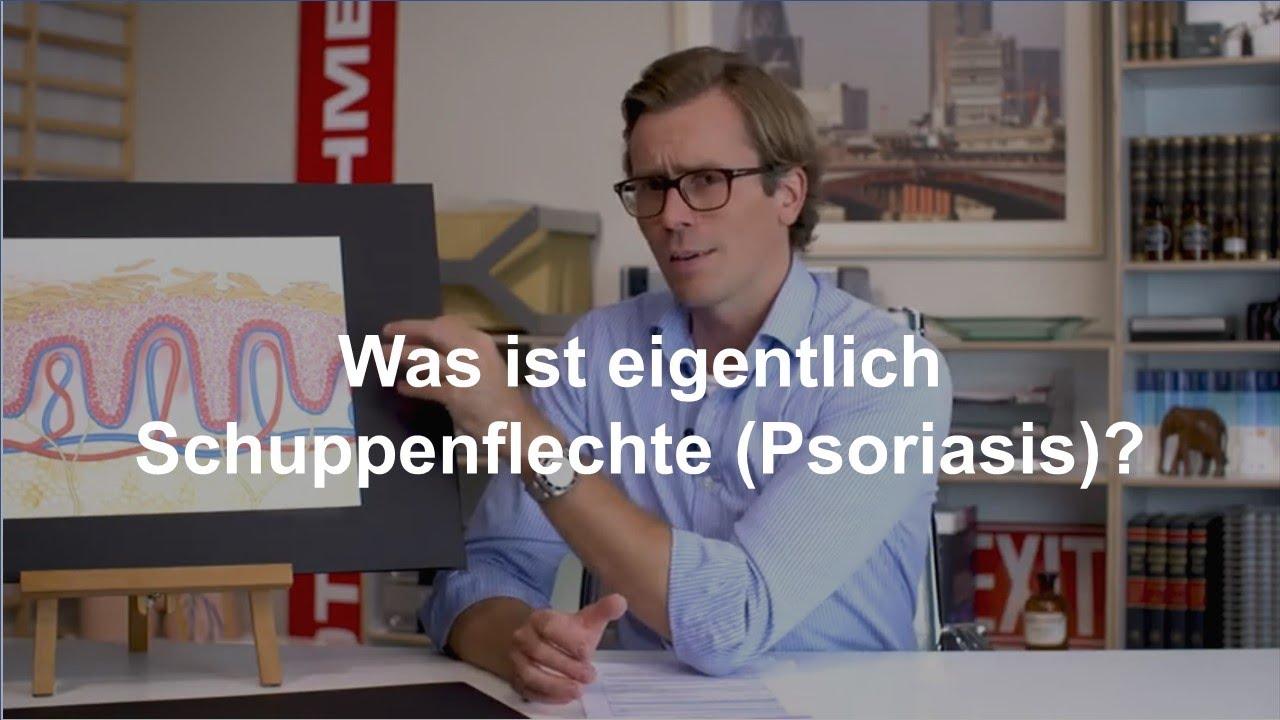 Dr. Johannes Wimmer erklärt Schuppenflechte