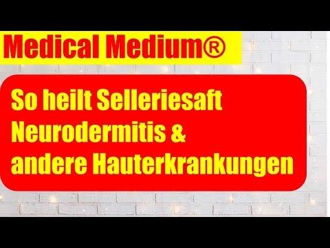 Selleriesaft bei Neurodermitis, Schuppenflechte und Rosacea