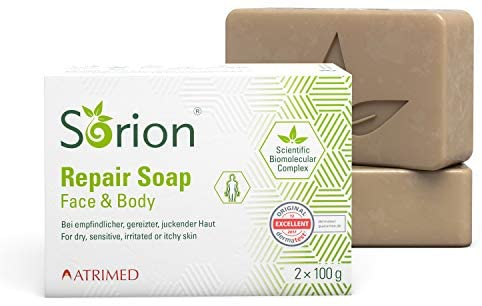 Sorion Repair Soap - Auch zur Hautpflege bei Schuppenflechte
