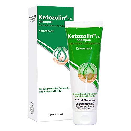 Ketozolin 2%, 120 ml Shampoo