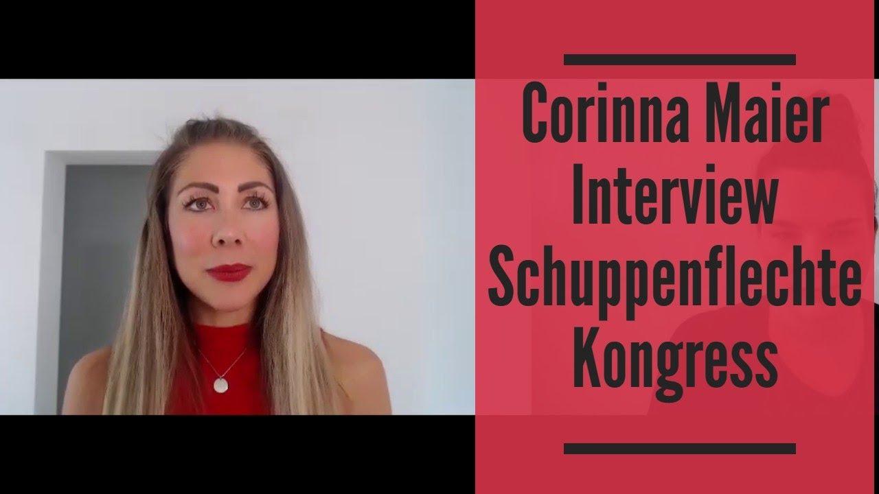 Corinna Maier Interview Schuppenflechte Kongress