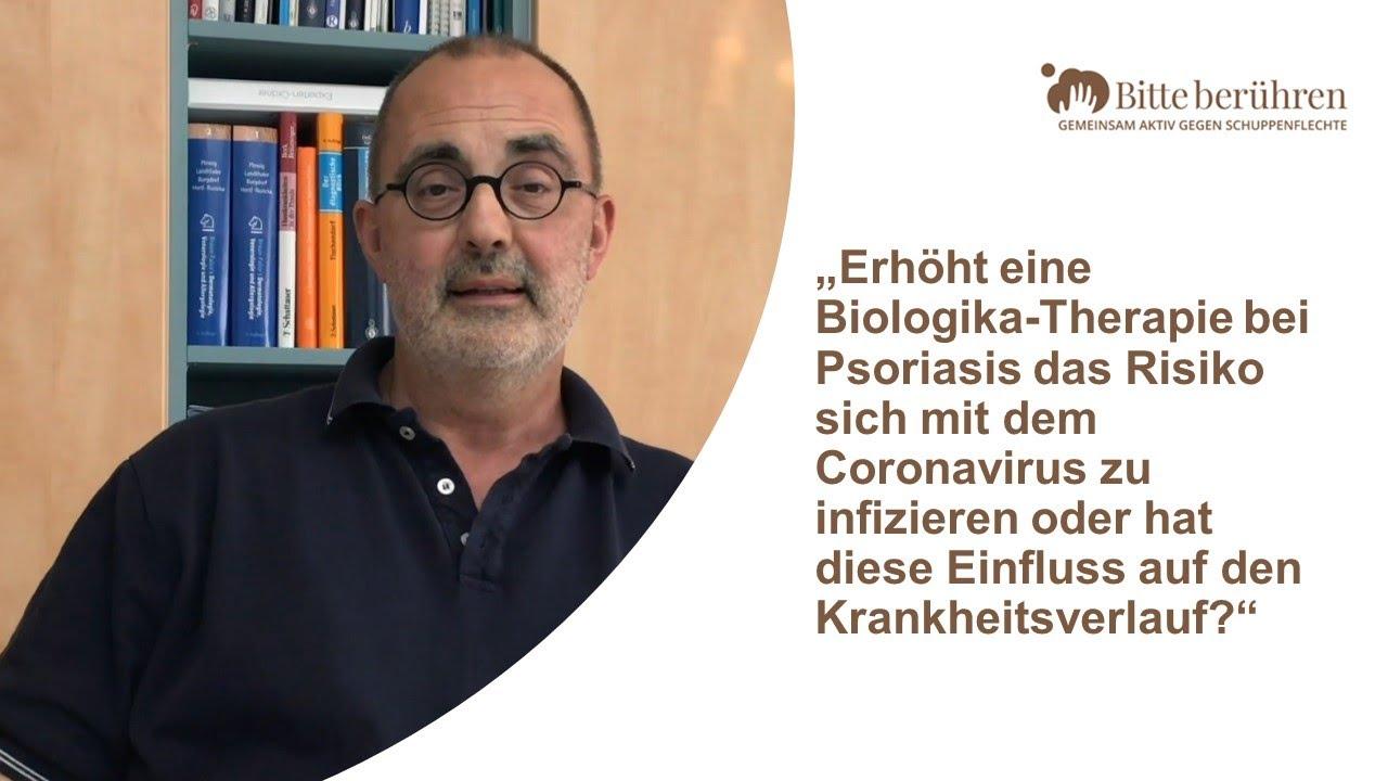 Schuppenflechte und Coronavirus - Expertenrat zur Systemtherapie