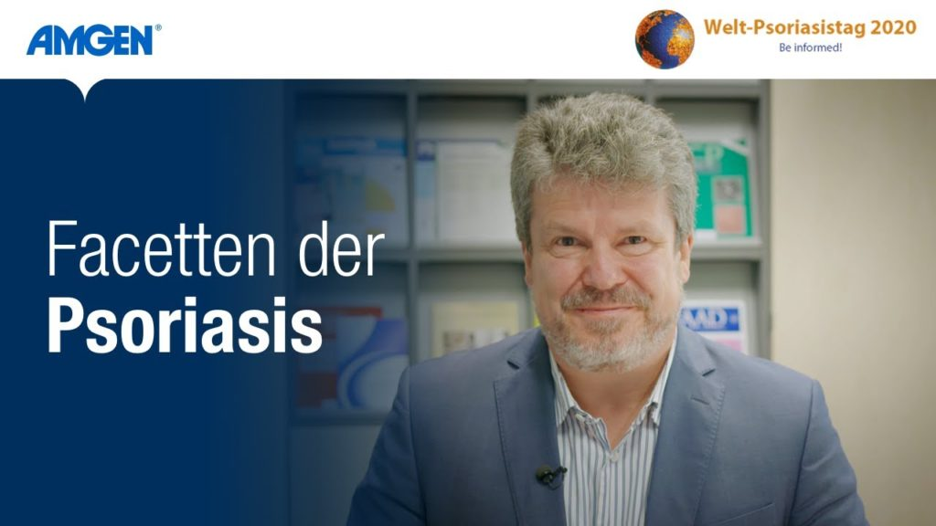 Facetten der Psoriasis – Prof. Dr. Schön informiert über Schuppenflechte   Amgen