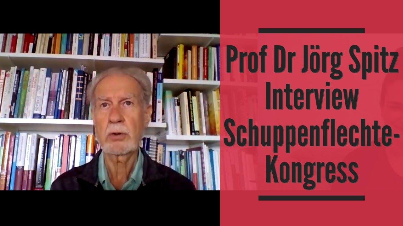 Prof Dr Jörg Spitz Interview Schuppenflechte Kongress