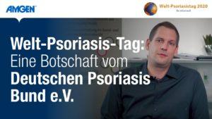 #Weltpsoriasistag - Eine Botschaft vom Deutschen Psoriasis Bund e.V. | Amgen