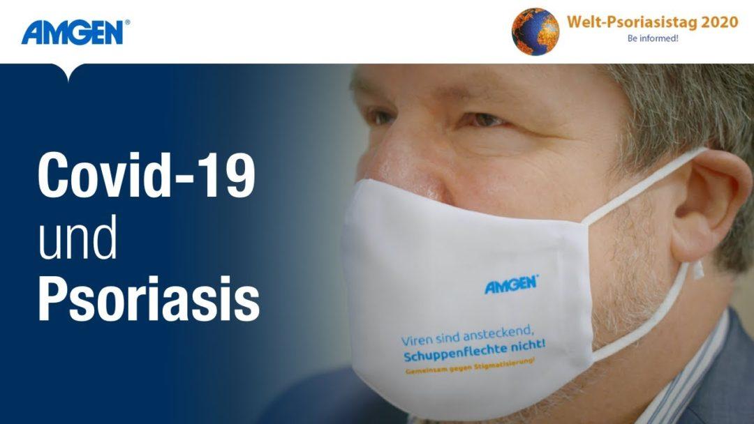 Covid-19 und Psoriasis – Prof. Dr. Schön klärt auf   Amgen