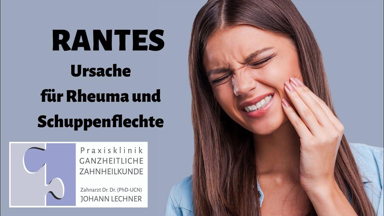 RANTES als Ursache für Rheuma und Schuppenflechte